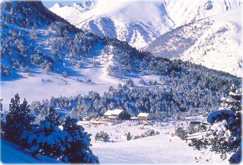 Pistas de Soldeu, El Tarter. Andorra