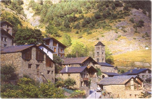Andorra Pueblo de Pal