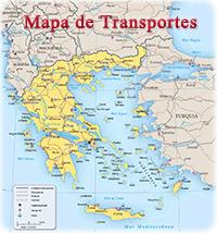 Mapas Da Grecia